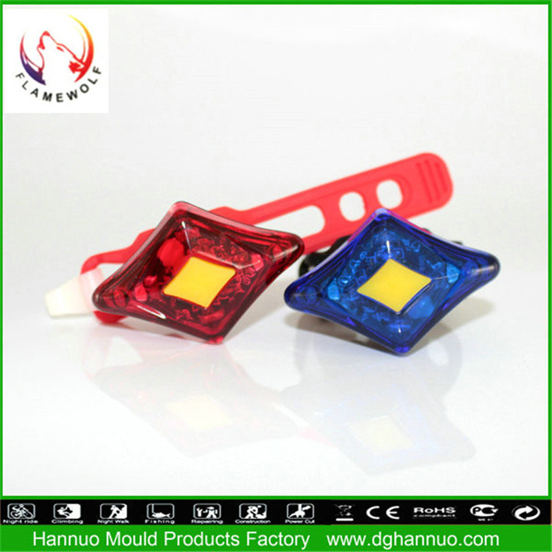 new products on china market red and blue bike lights