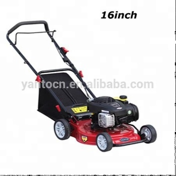 "Strong 16"" inch Steel deck Gasoline Lawn mower for Garden"