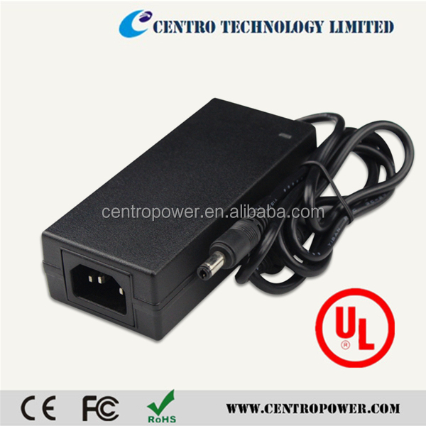 Shenzhen 12v ac/dc Adaptor Manufacturer CE FCC ROHS Approval 60W ,5A Power Adapter