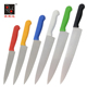 Cheap Colorful Plastic Handle Kitchen Knives Made in China