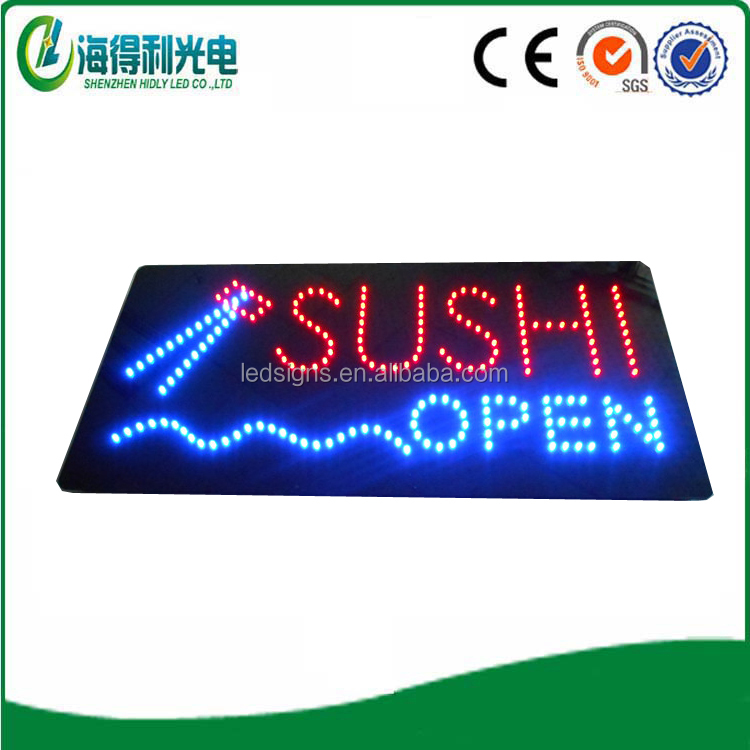 Hot sale restaurant electronic led food letter sign board