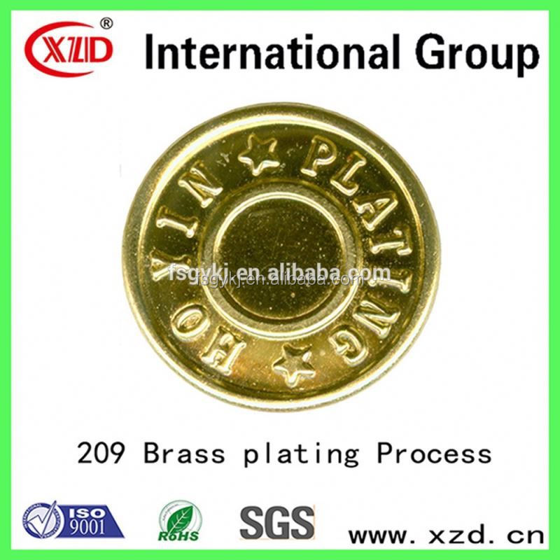 formulation additive Brass plating process