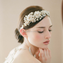 Fashion Girls Hair Accessories Crystal Metal Flower Rhinestone Headbands for Slae