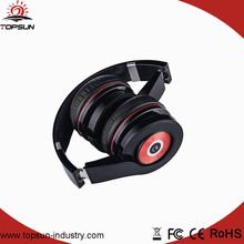Foldable Wireless Bluetooth Headset With Touchable Control Menu