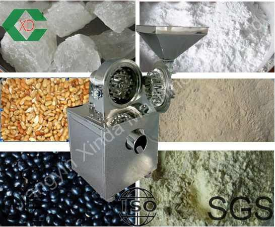 Small Stainless Steel Ice Sugar Grinding Machine