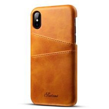 New PU Leather Case for Apple iphone 8 Flip Cover with Card Holder