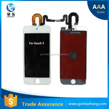 Wholesale Mobile Phone lcd touch screen Digitizer assmbly for apple ipod touch 5