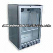 Beer bar Cooler with 138L Capacity, Available in Black or Glass Solid Color Single Door