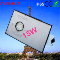 12v 15w smart solar led street light all in one accept Paypal