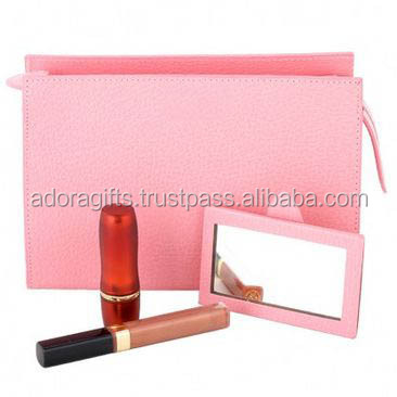 PU Leather Travel Toiletry Cosmetic Bag / multifunction wholesale cosmetic bags / special purpose bags and cases