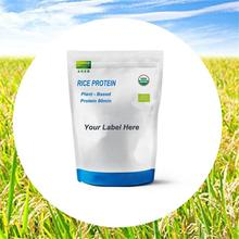 Organic rice protein meal replacement milk shake powder for daily sports supplyments