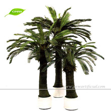 APM045 GNW mini artificial plant palm trees 3.5 meter for garden decorations