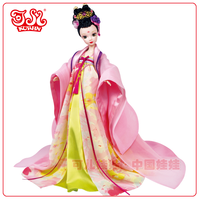 Hot sale 11 inch Chinese princess doll toy for collection