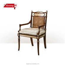 Hot sale vintage living room hand shaped wood chair DX006