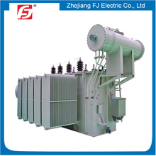 Pressure Relief Valve Installed Oil Tank Addible Liquid Cooled Step Down 3 MVA Transformer