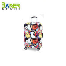 Elastic protective luggage cover
