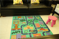 New kids educational Custom printing nontoxic eco babies play mat