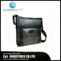 Wholesale Carbon fiber Messenger bag