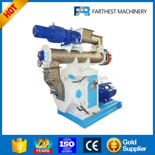 Ring Die Rabbits Fodder Pellet Making Machine With Factory Price
