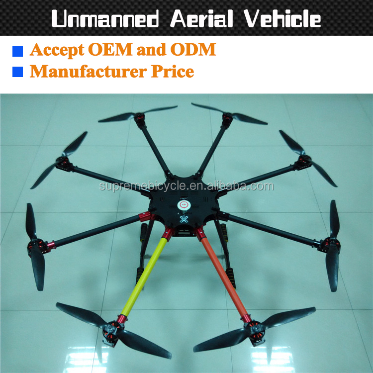 Hot customize carbon fiber aircraft with quadcopter hexrcopter octocopter for rc plane