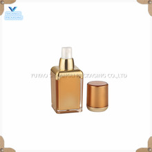 gold airless cosmetic packaging