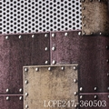 new fashion modern rivets wallpaer designs for exterior decor