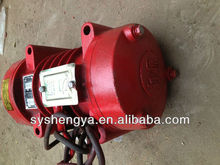 block machine vibration motor