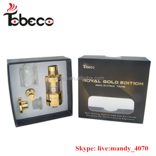 Gold super tank mini Tobeco 24k royal gold edition gold mini super tank