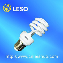 2017 LESO lighting energy saving lamps OEM can be provided for CFL 65W/ half Spiral Normal 14MM