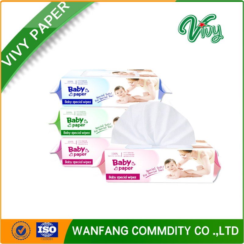 Hot sale no alcohol baby face and hand cleaning wet wipes