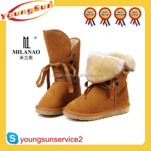 Stock winter classic style lady snow boots