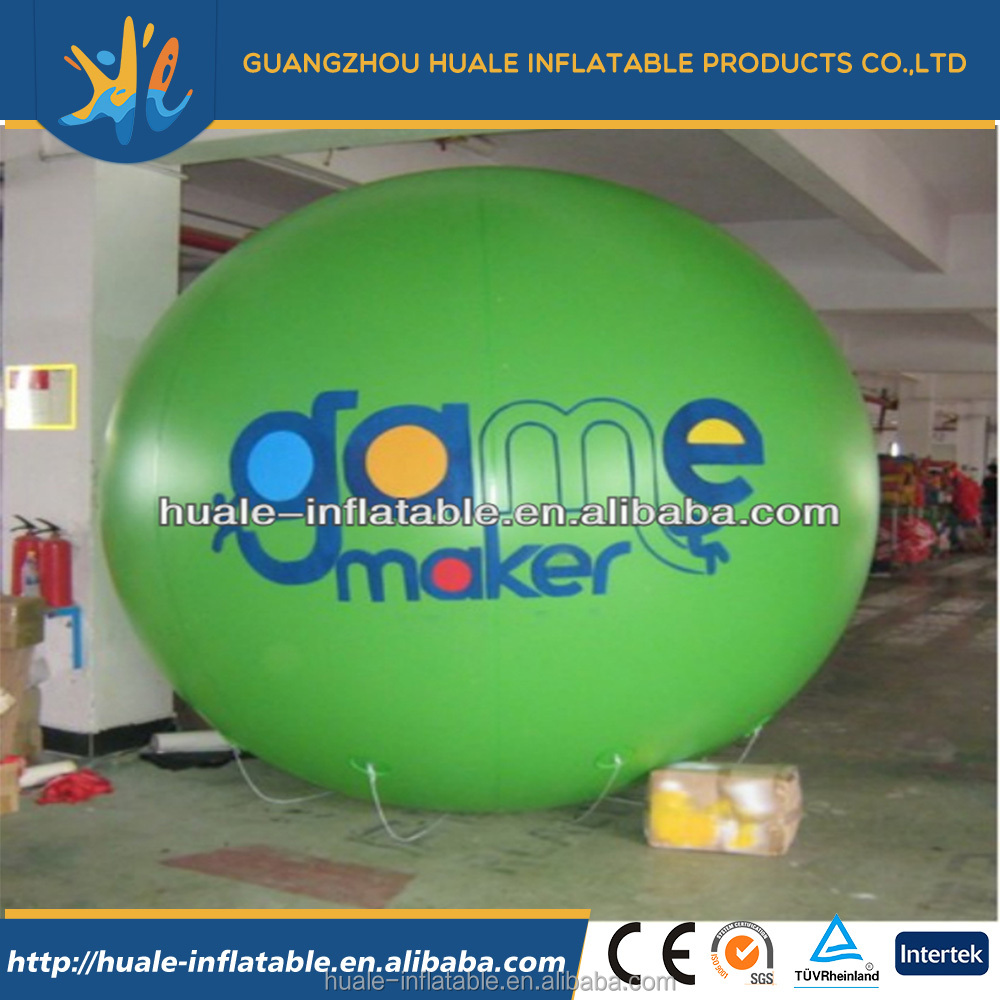 2017 Newest design Iinteresting fun inflatable hot air balloon price /for sale
