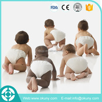 High quality disposable cloth diapers babies