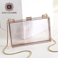 N366 wholesale products Acrylic Transparent women evening bags for wedding party clutch bags