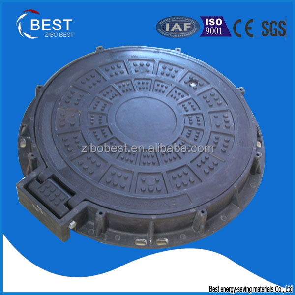 Trading business ideas high quality ship used round frp hinged manhole cover bolt