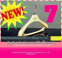 HOT SALE! NEW wooden clothes hanger for wholesale (non-slip)