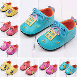 Cheap Soft Baby Shoes Leather Children Shoes Pu Leather For Shoes