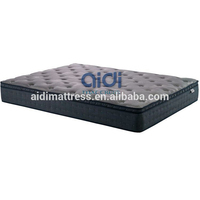 Good Grade Quality Appropriate Price Knitted Euro Top Home Bedding Spring Latex Mattress