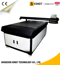 Kingt YG-1016C Ricoh GH2220 art ceiling UV printer price for Sign board printing