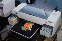 UV White color T shirt printer direct to garment injket printer no need transfer paper printer