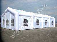 Outdoor Advertising Inflatable Party/ Wedding /Event Tent, inflatable buildings with clear windows