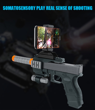 Newest Bluetooth Small Toy Gun Virtual Reality AR Gun with 3D virtual games for mobile phone