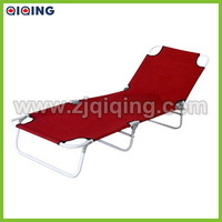 Red High Quality Price Of Folding Bed,Camping bed HQ-8003O