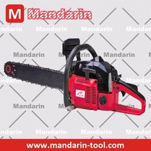 62CC Cheap gasoline chain saw machine price 3.2kw/7000rpm