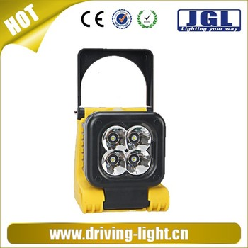 new product handheld led light or headlamp rechargeable 12w cree led work light with magnetic