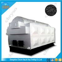High capacity coal fired steam generator, coal fired power plant