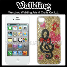 Jewelry phone case for iphone 5