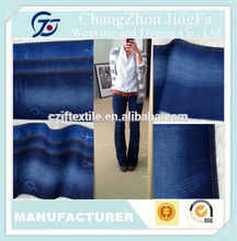 JF-K1392 Heavy Polyester Cotton Twill Denim Jean Fabric Rolls For Pants