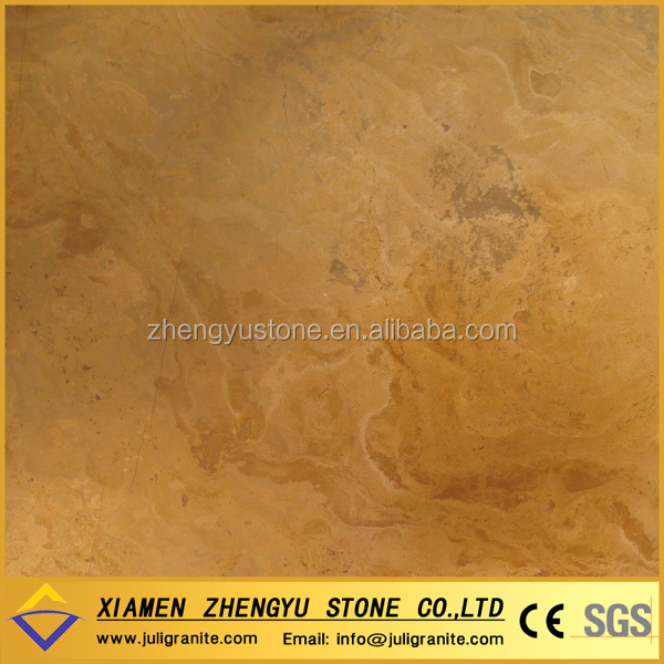 High quality polished beige limestone