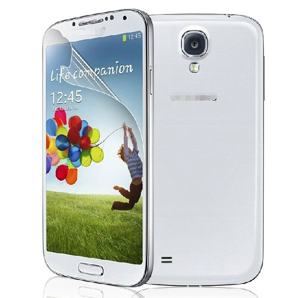 2013 New products Crystal Clear Invisible Guard screen protector cover for samsung galaxy s4